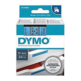 Dymo D1 blk sur bleu 19 mm x 7 m bande