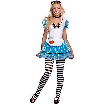 Lighting Alice In Wonderland Adult Costume