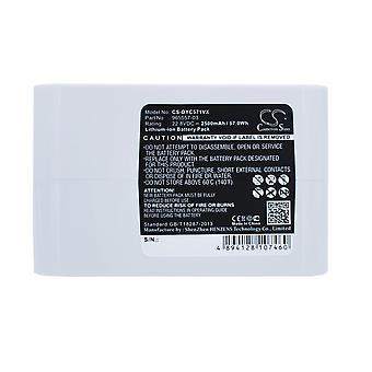 Battery for Dyson Vacuum 965557-03 Type-B DC31 Animal DC34 DC35 DC56 DC57 2500mA