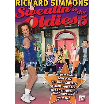 Richard Simmons: Sweatin' to the Oldies 5 [DVD] USA import