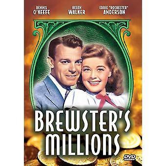Brewster's Millions (1945) [DVD] USA import