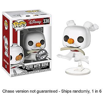 The Nightmare Before Christmas Zero Pop! Chase Ships 1 in 6