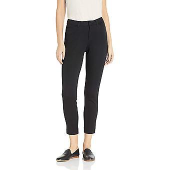 Essentials Frauen's Dünne Knöchel Hose, schwarz, 8 regular, schwarz, Größe 8.0