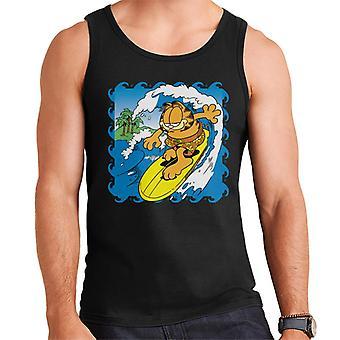 Garfield Surfs Up Men's Vest