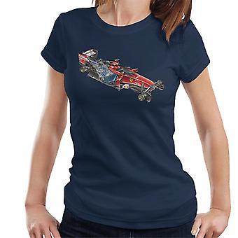Motorsport images Ferrari F14 t deonstructed Näytä naiset ' s T-paita