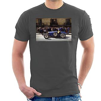 Bugatti Type 3 Racing Car Shot Men's T-Shirt