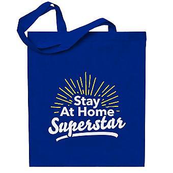 Pysy kotona Superstar Totebag