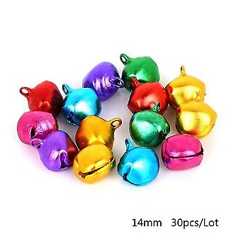 Small Jingle Bells Aluminum Loose Beads For Festival Party Decoration/christmas Tree Decoration