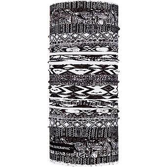 Buff Unisex Thabo National Geographic CoolNet UV+ Beschermende buisvormige sjaal grijs