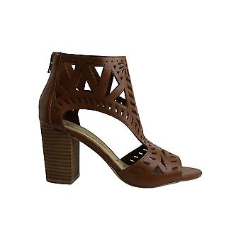 American Rag Women's Danyelle Sandals, Created for Macy's - Cognac Smooth