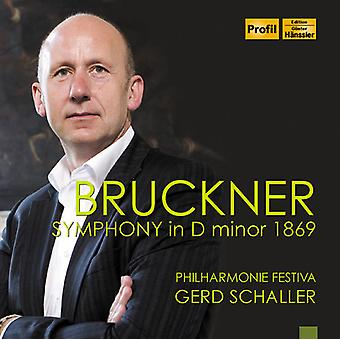Bruckner / Schaller, Gerd - Symphony in D Minor [CD] USA import