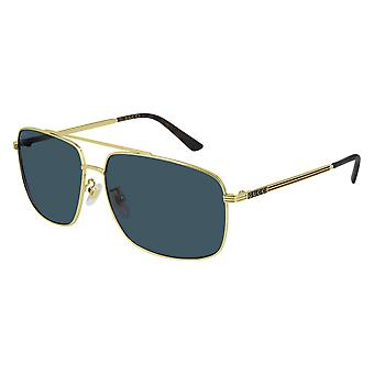 Gucci Asian Fit GG0836SK 004 Gold/Blue Sunglasses