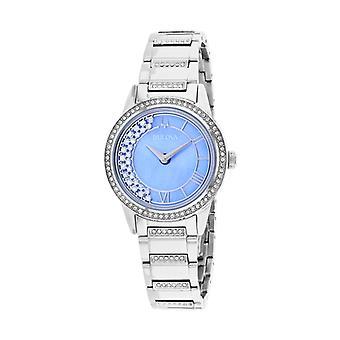 Bulova Women's TurnStyle - Blue Mother of Pearl - Quartz Watch