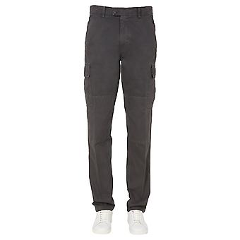 Aspesi Cp31a263st85200 Men's Pantaloni di cotone grigio