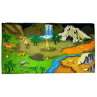 Dinosaurus speelmat - 107x58 cm