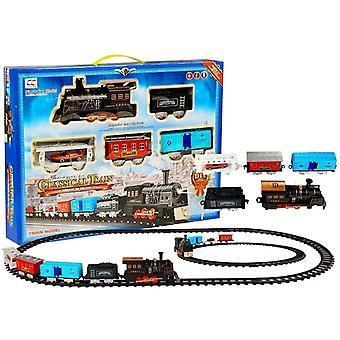 Akumulátorová vlaková souprava - 4 vozy a 20 stop