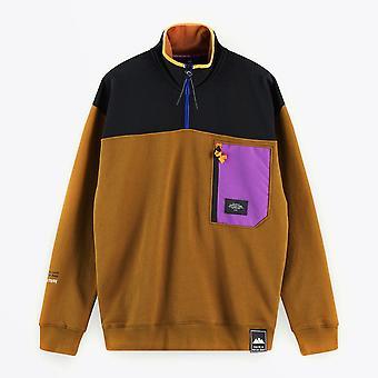 Scotch & Soda  - Colour Block Half-Zip Sweater - Multi