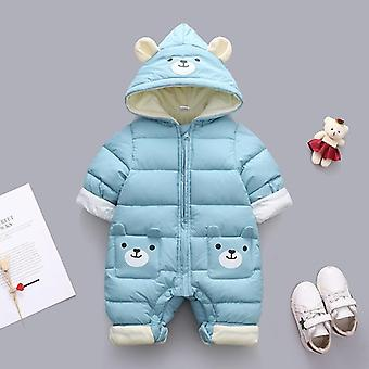 Baby Clothes Winter Hooded, Rompers, Thick Cotton Warm Outfit, Snowsuit