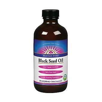 Heritage Store Black Seed Oil, 8 oz