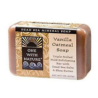 One with Nature Almond Bar Soap, Vanilla Oatmeal, 7 Oz