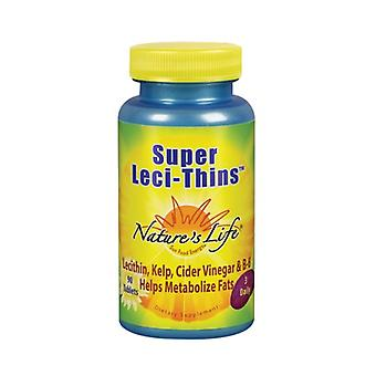 Nature's Life Super Leci-Thins, 90 tabs