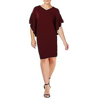 Lauren by Ralph Lauren | Womens Plus V-Neck Shift Casual Dress