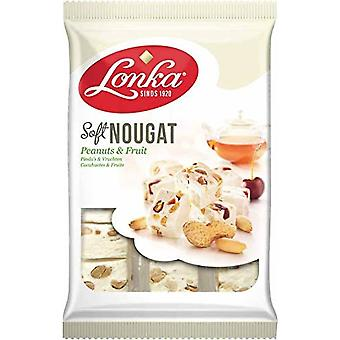 Lonka Peanut & Fruit Soft Nougat 180g x 12 packs