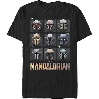 Bounty Hunter Casques Star Wars Le T-Shirt Mandalorian