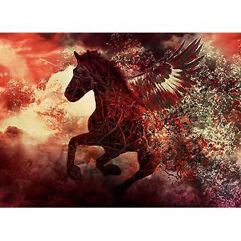 Bakgrunn mural Apocalypse Fantasy Horse