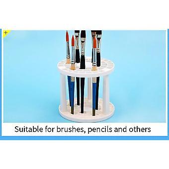 Brush Pen Holder 49 Holes Pen Rack Display Stand Support Holder