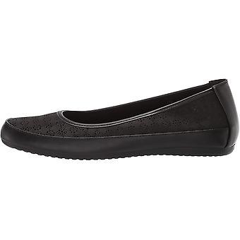 Easy Street Women's Shoes benny Closed Toe Slide Flats
