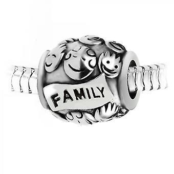 Charm acero de la familia perla por SC Crystal