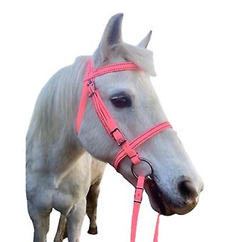 Equestrian Horse Bridle Halter, Pu Adjustable, Riding Equipment