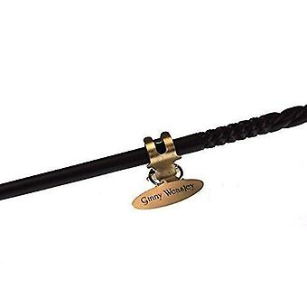 The noble collection - ginny weasley character wand - 14in (36cm) harry potter wand with metal name