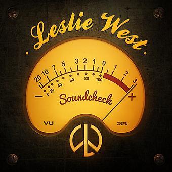 Leslie West - Soundcheck [CD] USA import