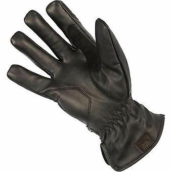 Spada Freeride Leather Motorcycle Gloves Black Touring Armoured Waterproof