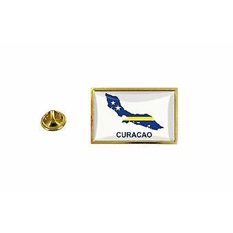 pine pine badge pine pin-apos;s country vlag kaart CW Curaçao