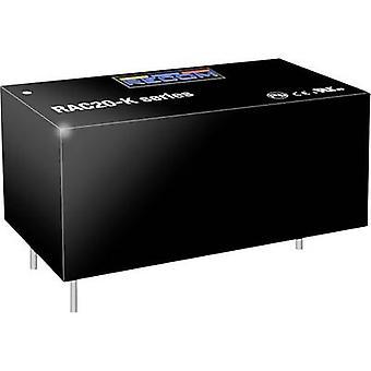 RECOM RAC20-12SK AC/DC PSU (tulosta) 12 V 20 W