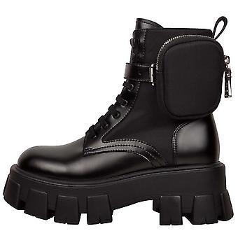 الخريف الشتاء الجديد سميكة soled الجلود مارتن عارضة المرأة & ق الأحذية