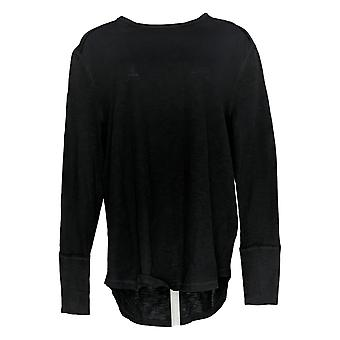 All Worthy Hunter McGrady Women's Top Long-Sleeve Relaxed Black A384588