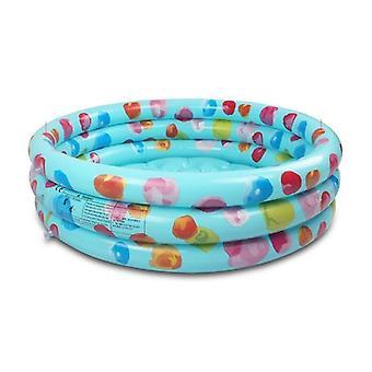 Rainbow Baby Puhallettava pyöreä uima-allas - Pvc Float tarvikkeet