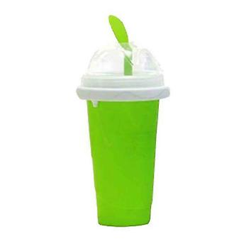 Milkshake Bottles Quick Cooling Cup Reusable Smoothie Cup Green
