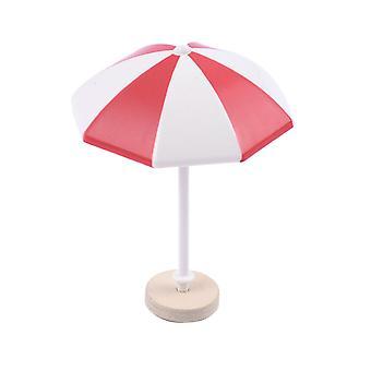 S/M/L Miniature Sun Umbrella Mini Beach Umbrella Landscape Bonsai Dollhouse Garden DIY Craft Accessory Home Decoration