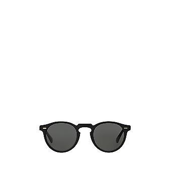 Oliver Peoples OV5217S semi matzwarte unisex zonnebril