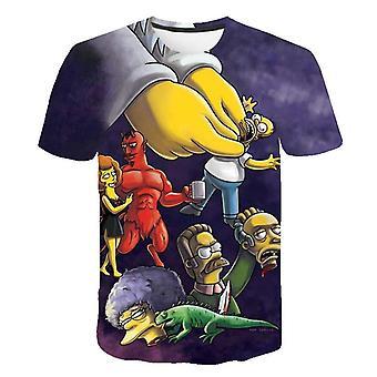 3d Printed Simpson T Shirt