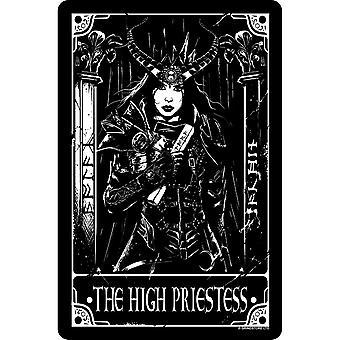 Deadly Tarot The High Priestess Plaque