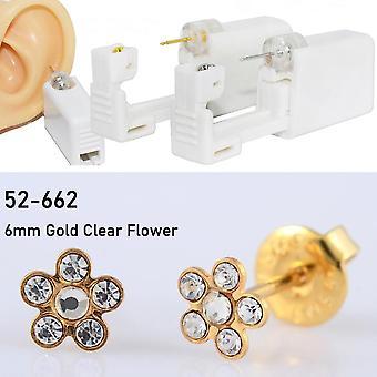 Disposable Sterile Ear Piercing Unit, Cartilage Tragus Helix Gun Tool Kit,