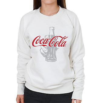 Coca Cola Bottle Its The Real Thing Women's Sweatshirt