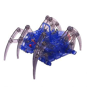 Electric Spider Robot Kit, Educational Intelligence Development Assembles Kids