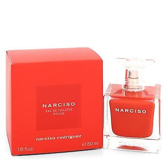 Narciso Rodriguez Rouge Eau De Toilette Spray Par Narciso Rodriguez 1.7 oz Eau De Toilette Spray